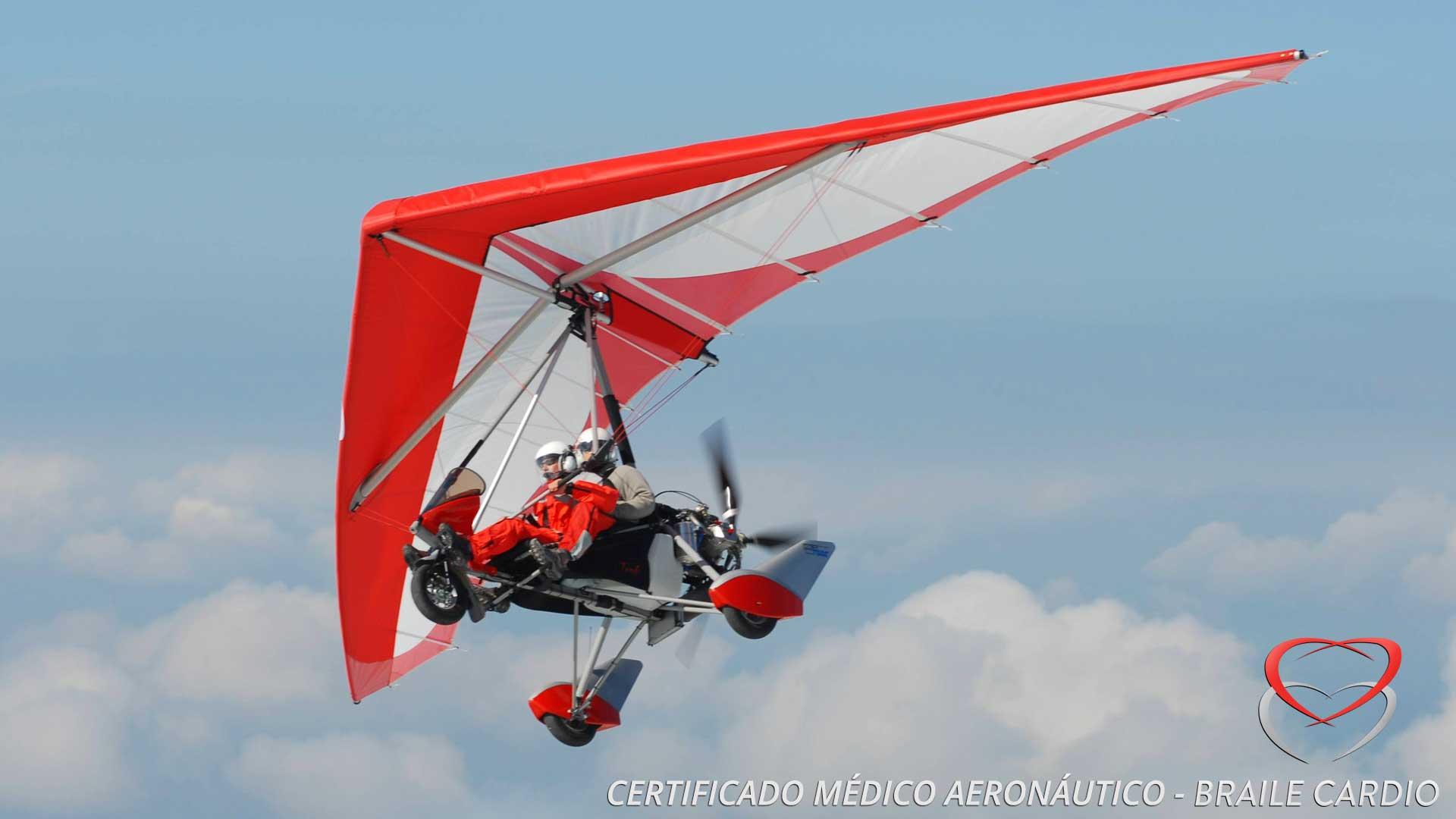 Certificado Médico Aeronáutico – Piloto Aerodesportivo