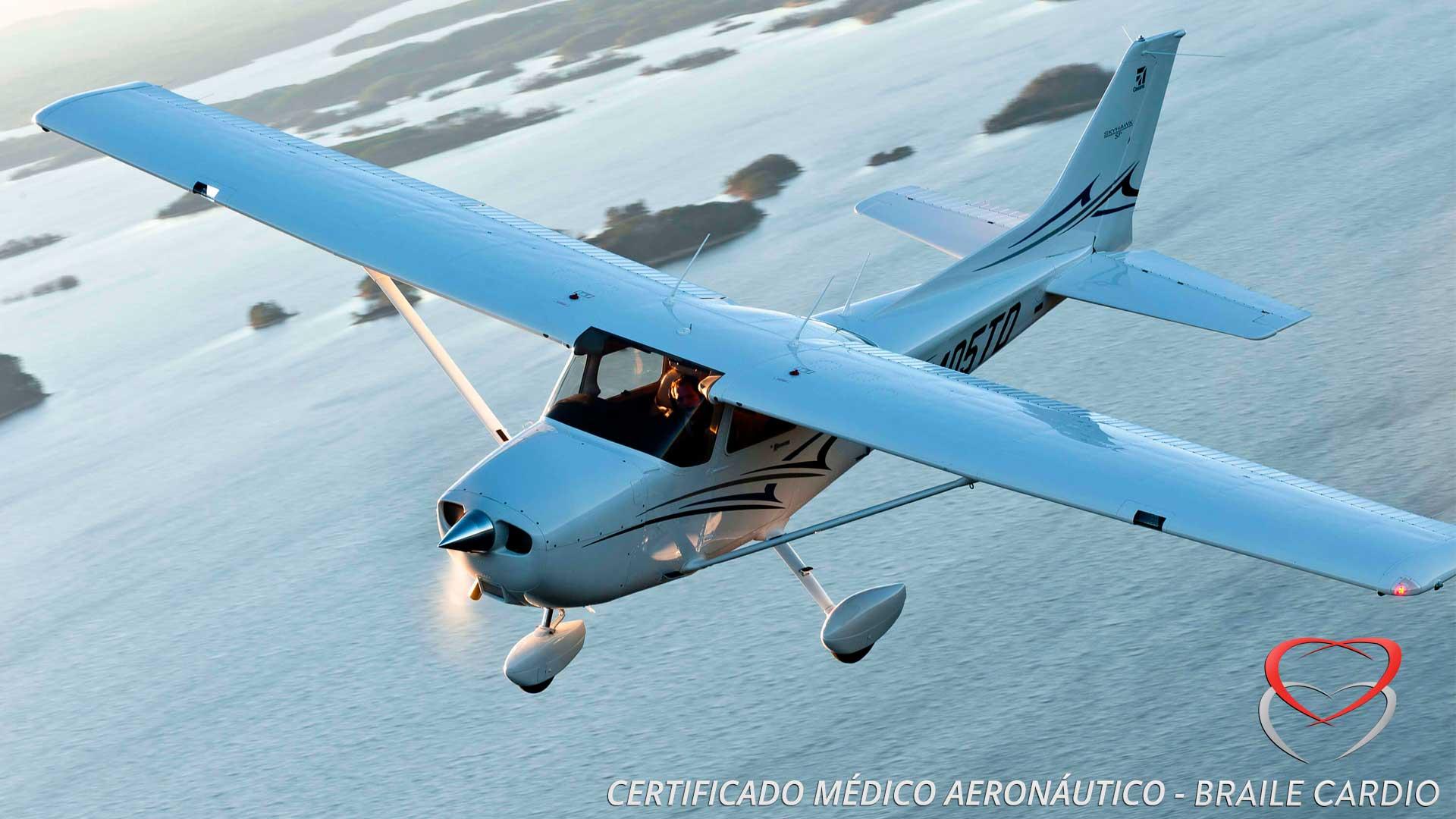 Certificado Médico Aeronáutico – Piloto de Recreio